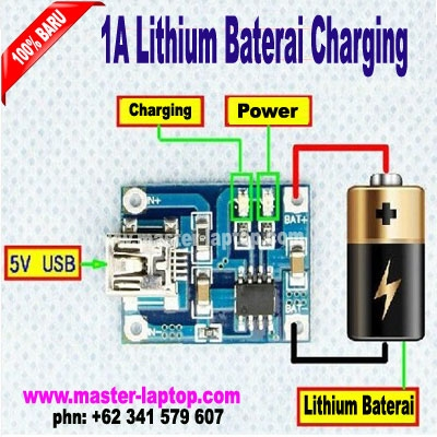 1A Lithium Baterai Charging  large2