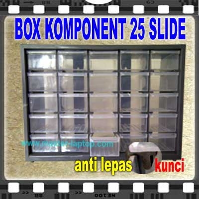BOX KOMPONENT 25 SLIDE  large2