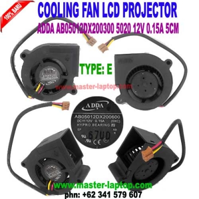 COOLING FAN LCD PROJECTOR TYPE C  large2