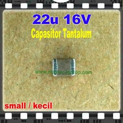 Cap tantalum 22u 16V small  large2