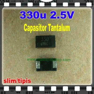 Cap tantalum 330u 2.5V  large2