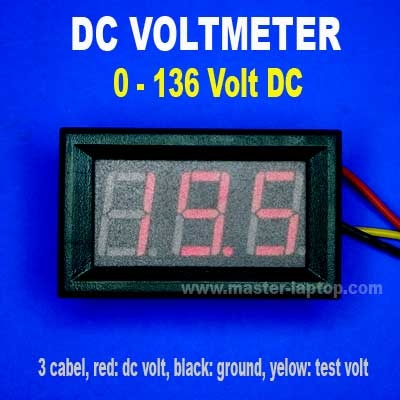 DC Voltmeter  large2