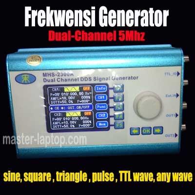 Frekwensi Generator MHS 2300A  large2
