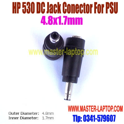 HP 530 DC Jack Conector For PSU  large2