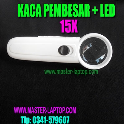KACA PEMBESAR LED 15x AAA  large2