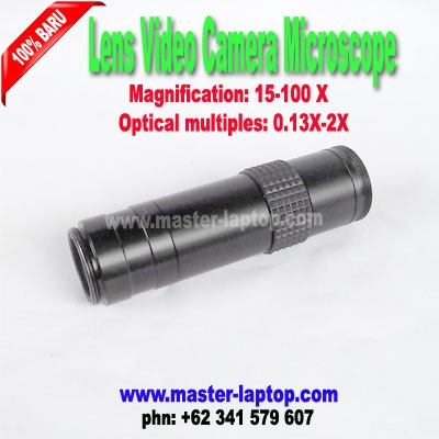 Lens Video Camera Microscope  large2