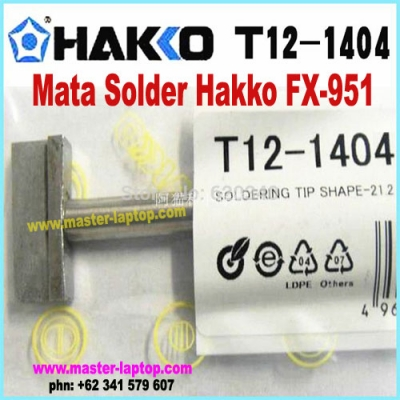 Mata Solder Hakko FX 951 T12 1404  large2