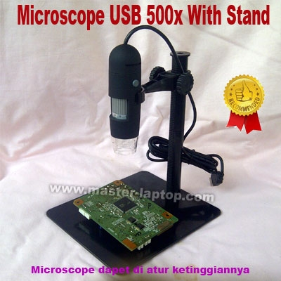 Microscope USB 500x With Stand  large2