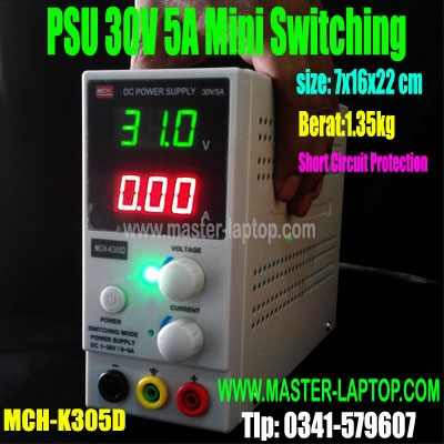 PSU 30V 5A MCH K305D mini portable  large2