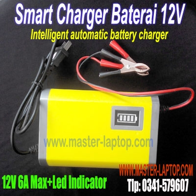 Smart Charger Baterai 12V  large2