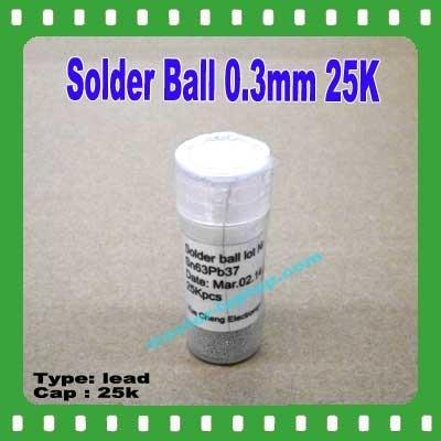 Solder Ball 03mm 25K  large2