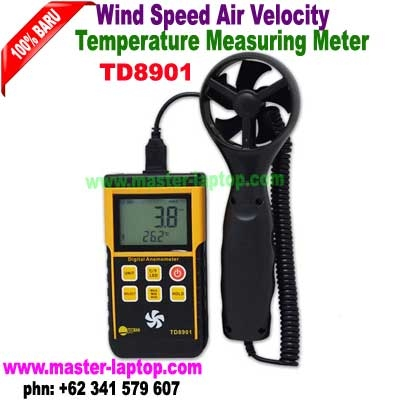 TD8901 Wind Speed Air Velocity Temperature Measuring Meter   large2