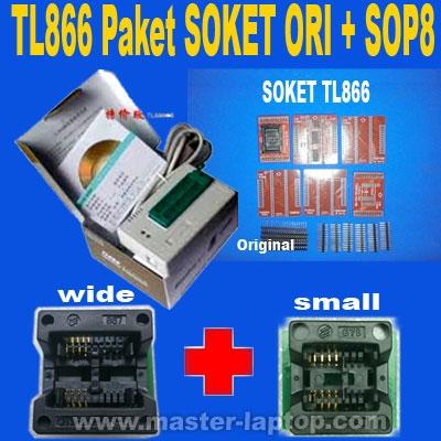 TL866 Paket SOKET ORI SOP8  large2