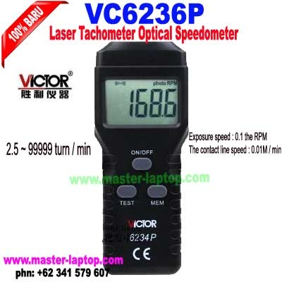 VC6236P laser tachometer Optical speedometer  large2