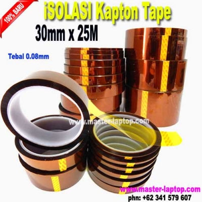iSOLASI Kapton Tape 30mmx25M  large2