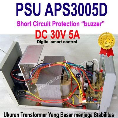 large2 PSU APS3005D komponent