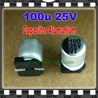 Cap Alu 100u 25V  large2