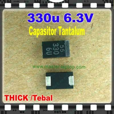 Cap tantalum 330u 6.3V tebal  large2